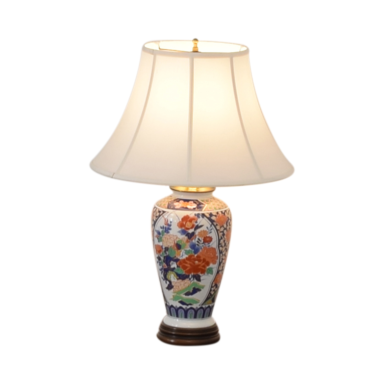 Japanese Imari Porcelain Table Lamp nyc