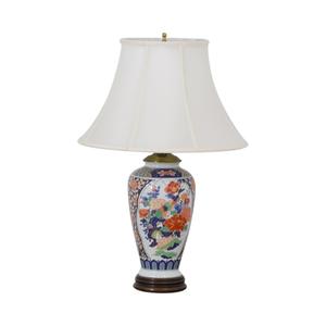 Japanese Imari Porcelain Table Lamp dimensions