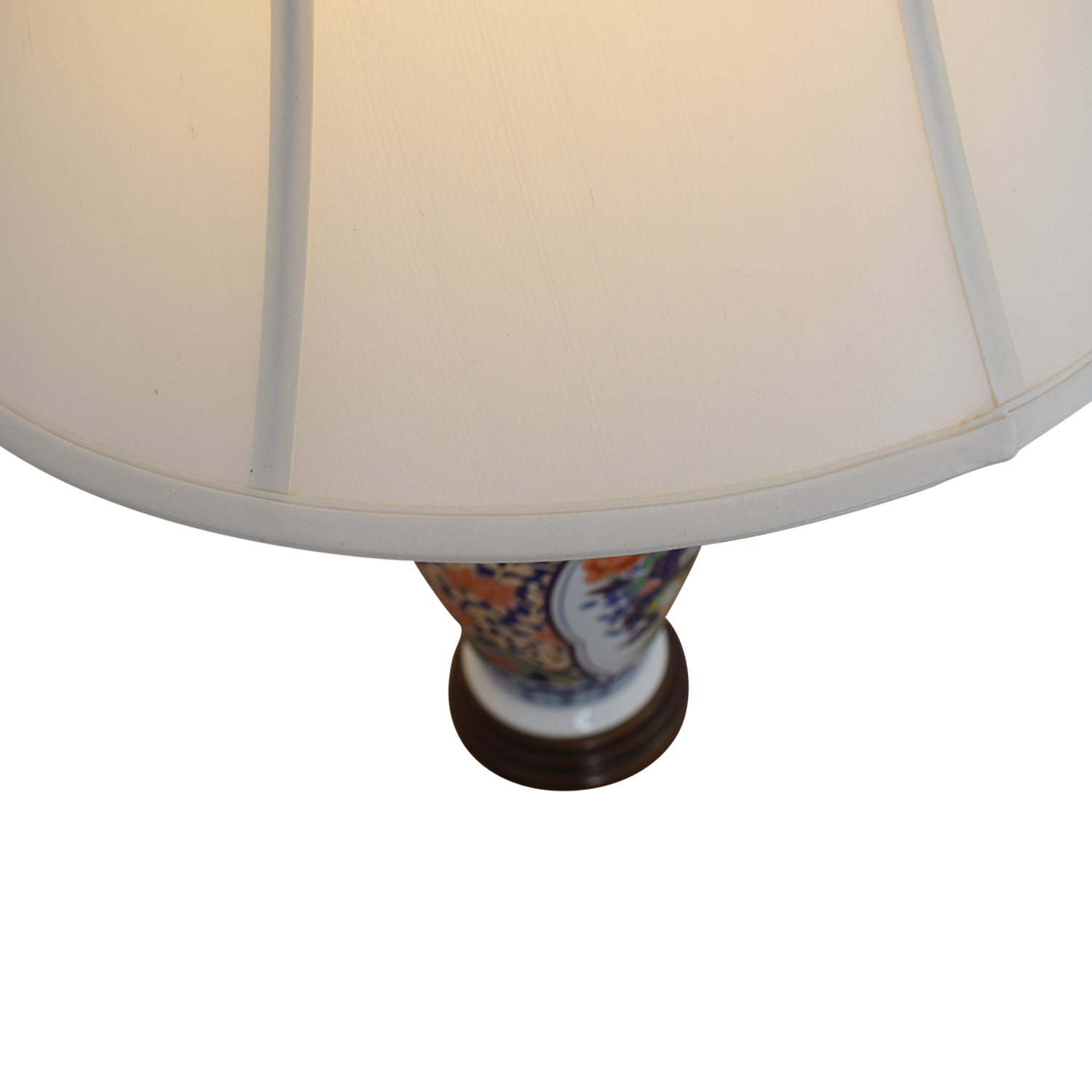Japanese Imari Porcelain Table Lamp