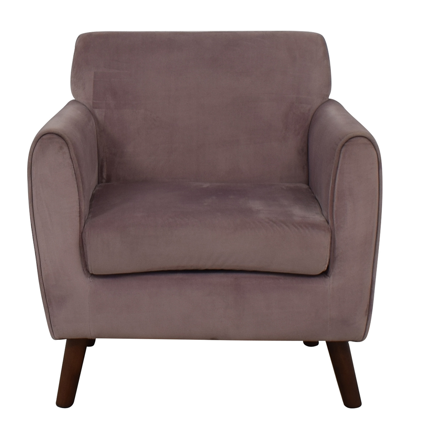 71 Off Brylane Home Brylane Home Purple Accent Chair Chairs