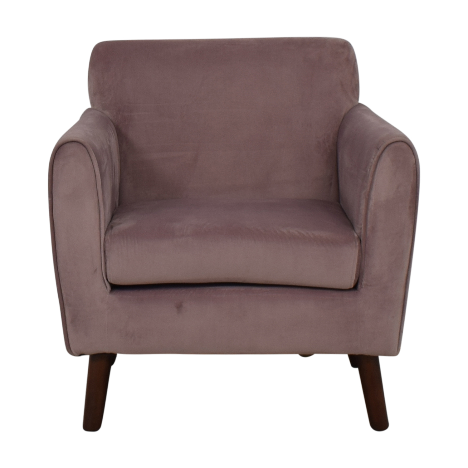 shop Brylane Home Purple Accent Chair Brylane Home Chairs
