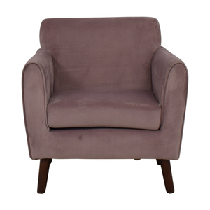Brylane Home Brylane Home Purple Accent Chair nj