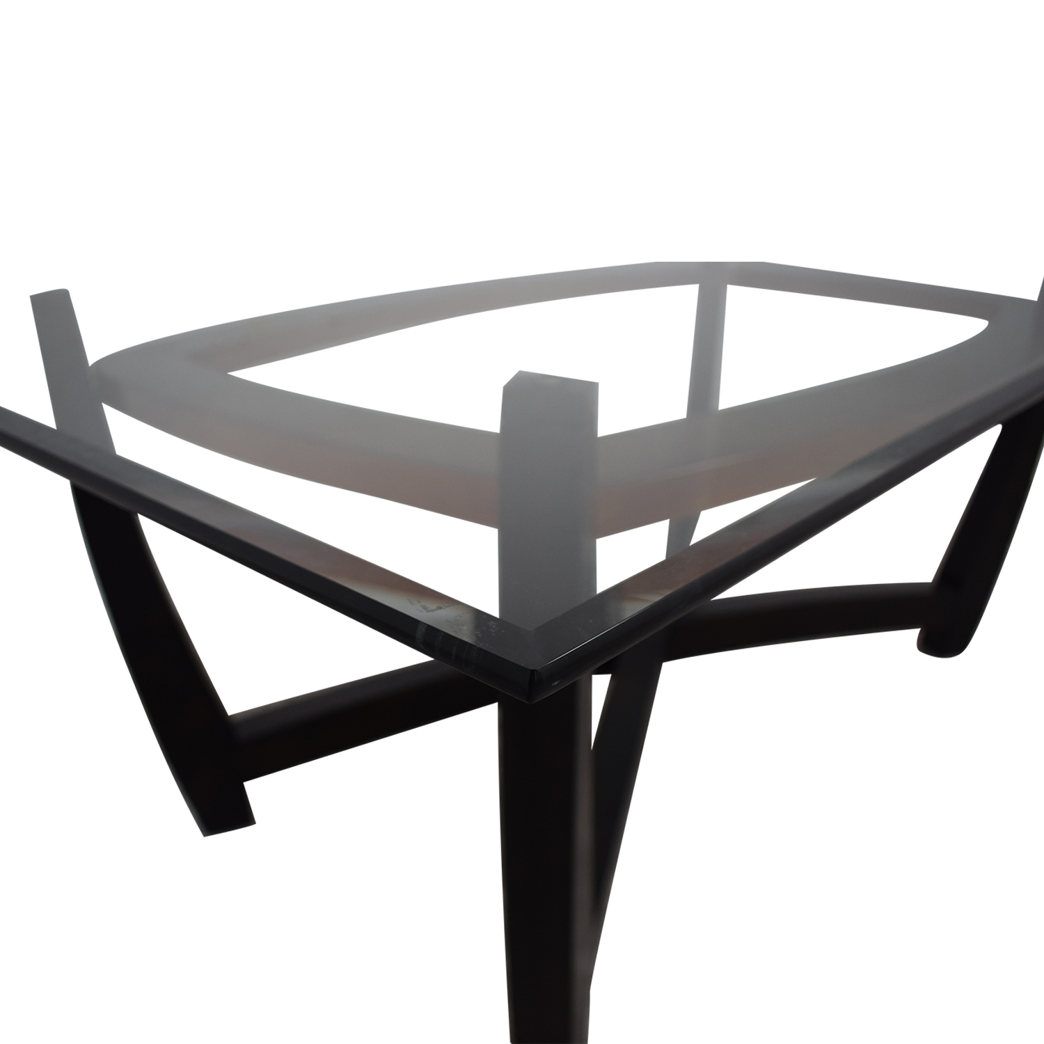 buy Glass Top Dining Table  Dinner Tables