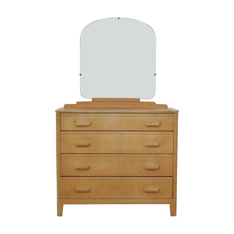 Art Deco Four-Drawer Dresser