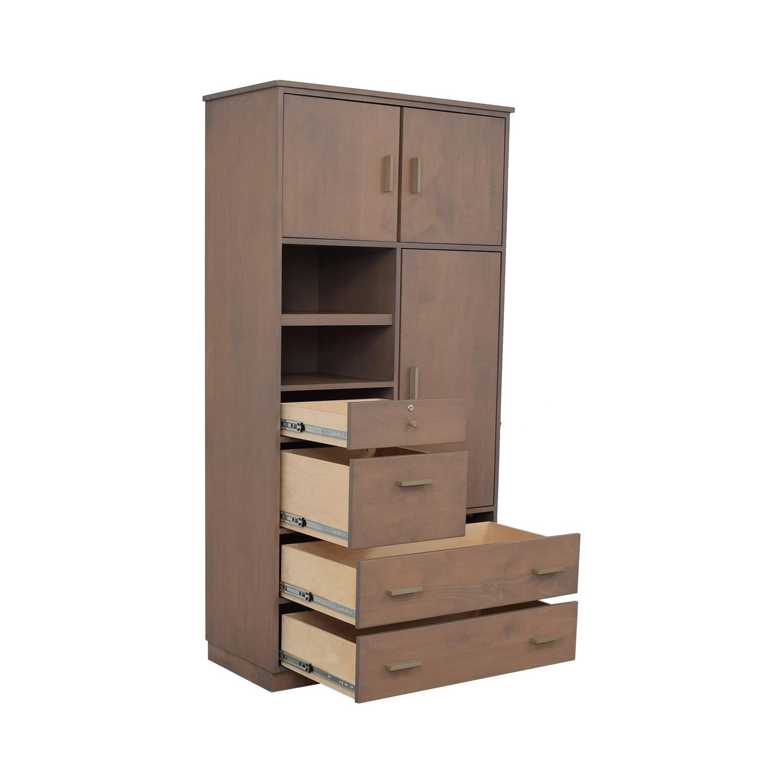 Room & Board Room & Board Linear Custom Modular Storage Armoire price