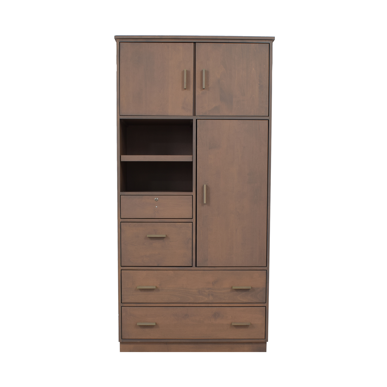 shop Room & Board Linear Custom Modular Storage Armoire Room & Board Storage
