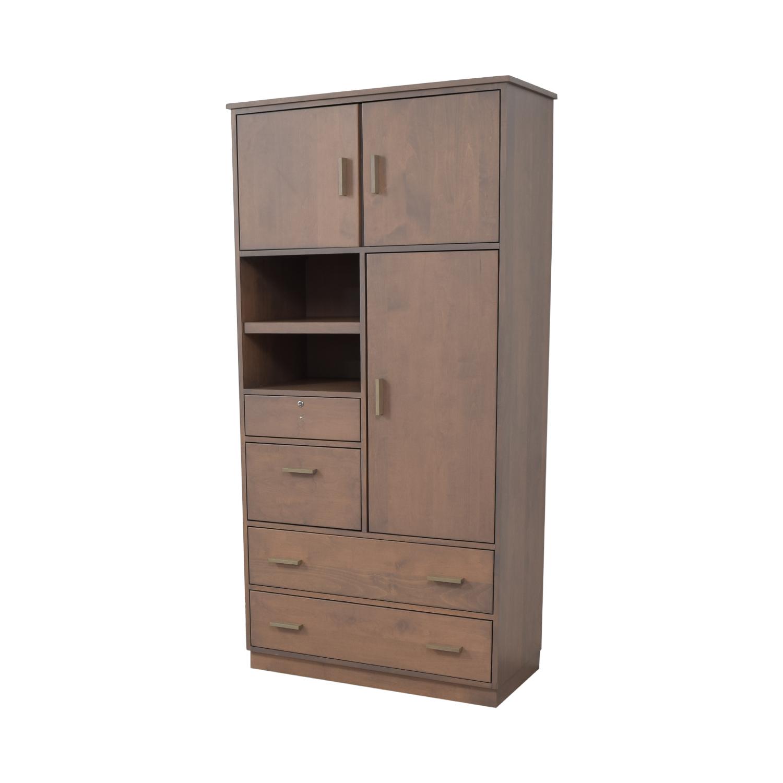 Room & Board Room & Board Linear Custom Modular Storage Armoire