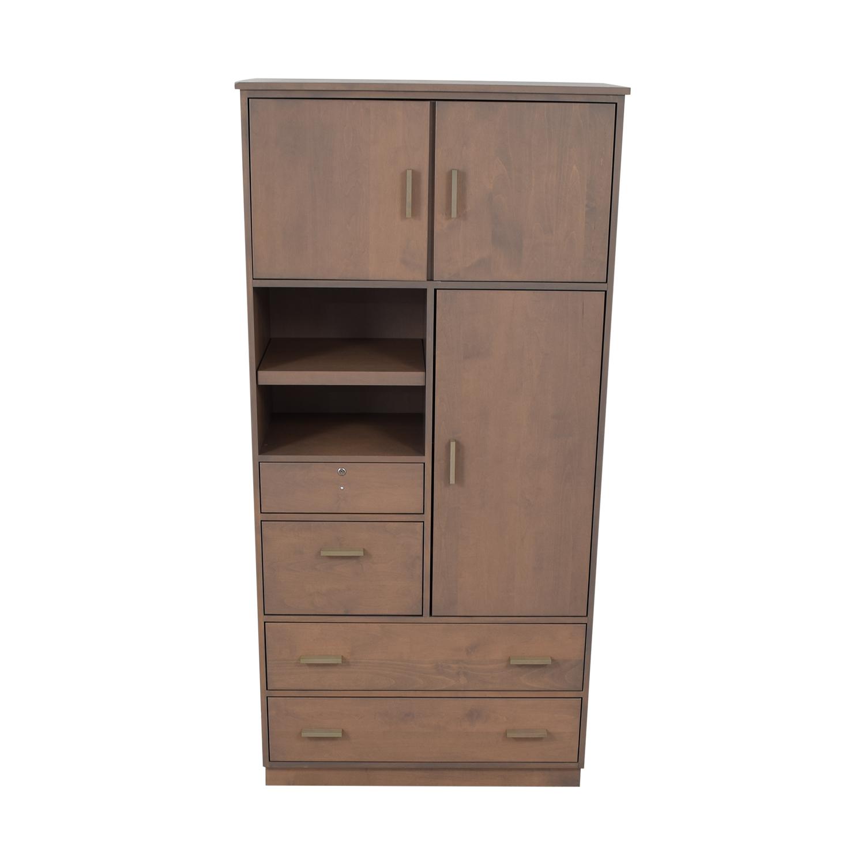 buy Room & Board Linear Custom Modular Storage Armoire Room & Board Storage