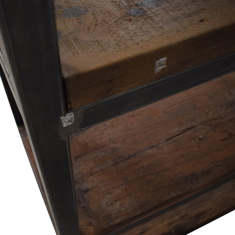 Hudson Goods Hudson Goods Reclaimed Wood Bookshelf Storage
