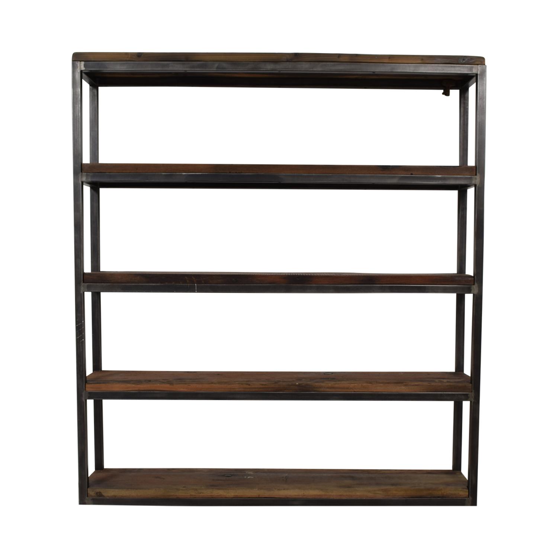 Hudson Goods Hudson Goods Reclaimed Wood Bookshelf Bookcases & Shelving