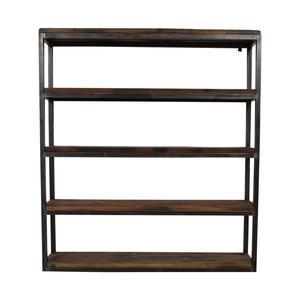 Hudson Goods Hudson Goods Reclaimed Wood Bookshelf dimensions