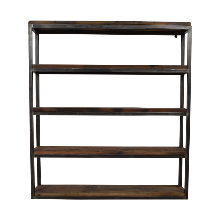 Hudson Goods Hudson Goods Reclaimed Wood Bookshelf Storage