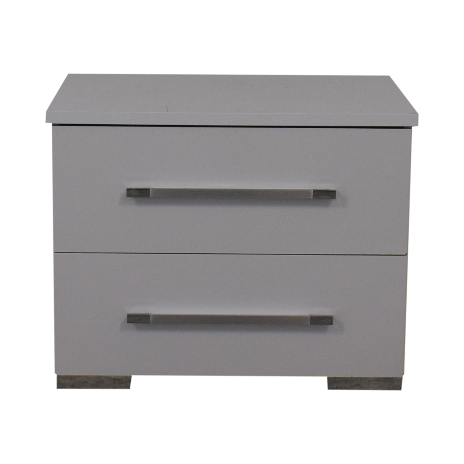 shop Contemporary White Nightstand