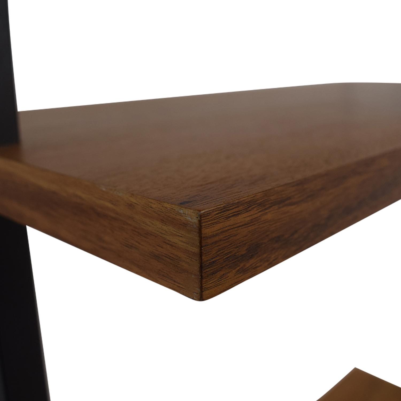CB2 Helix Acacia Desk / Tables