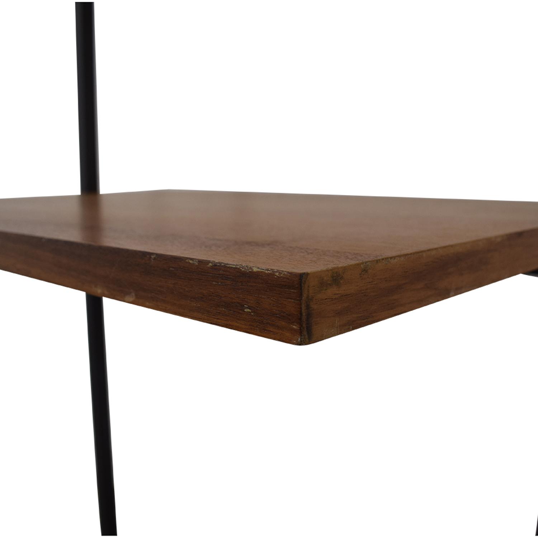 CB2 CB2 Helix Acacia Desk nyc