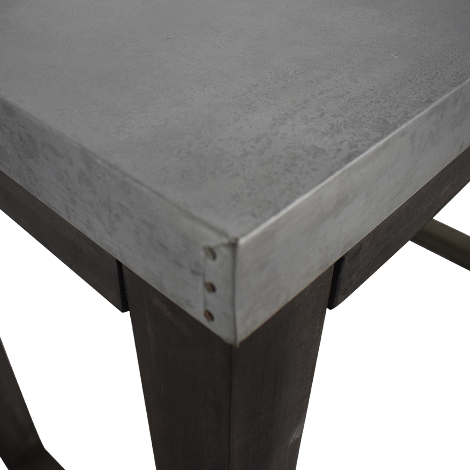 buy CB2 CB2 Stern Metal Counter Table online