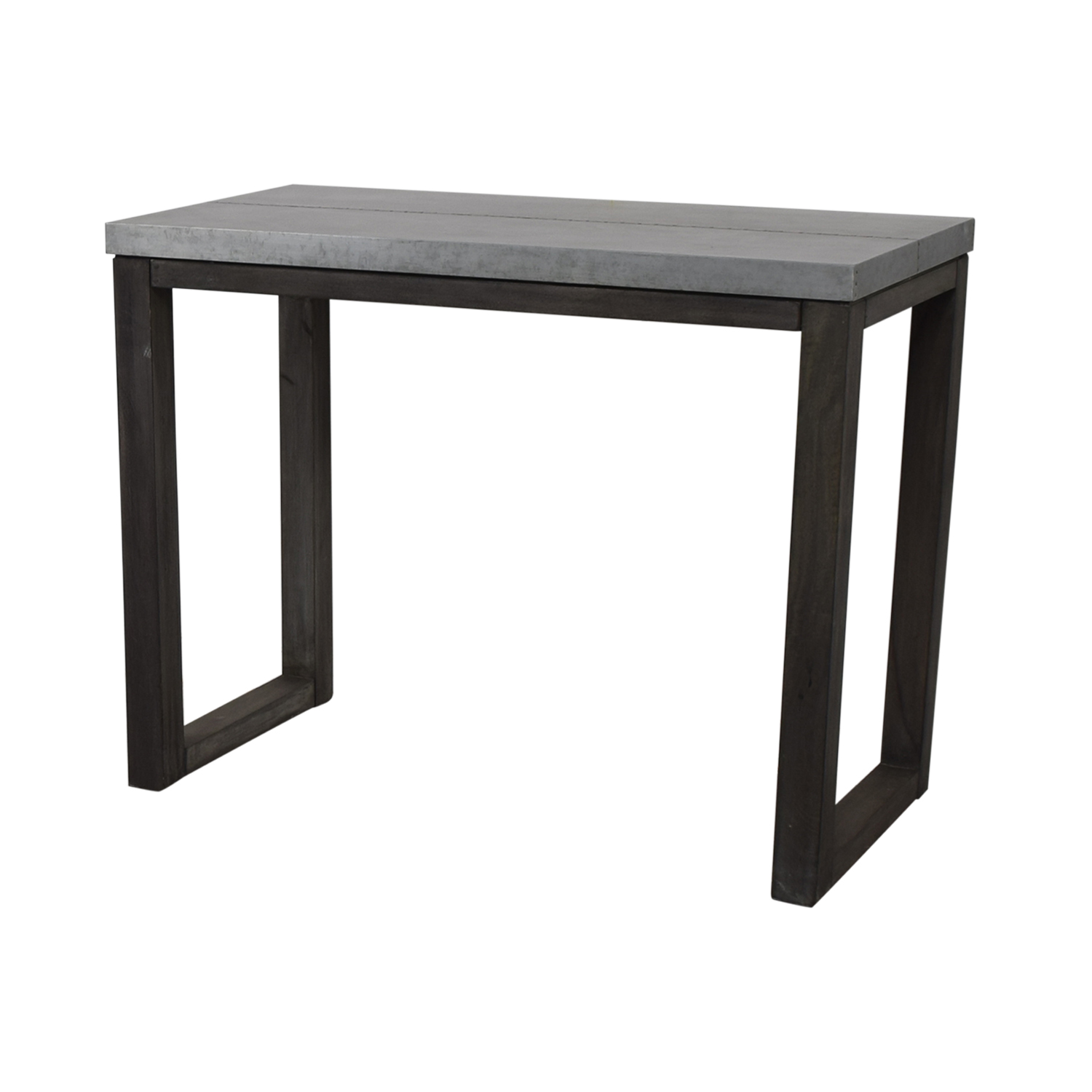 CB2 CB2 Stern Metal Counter Table price