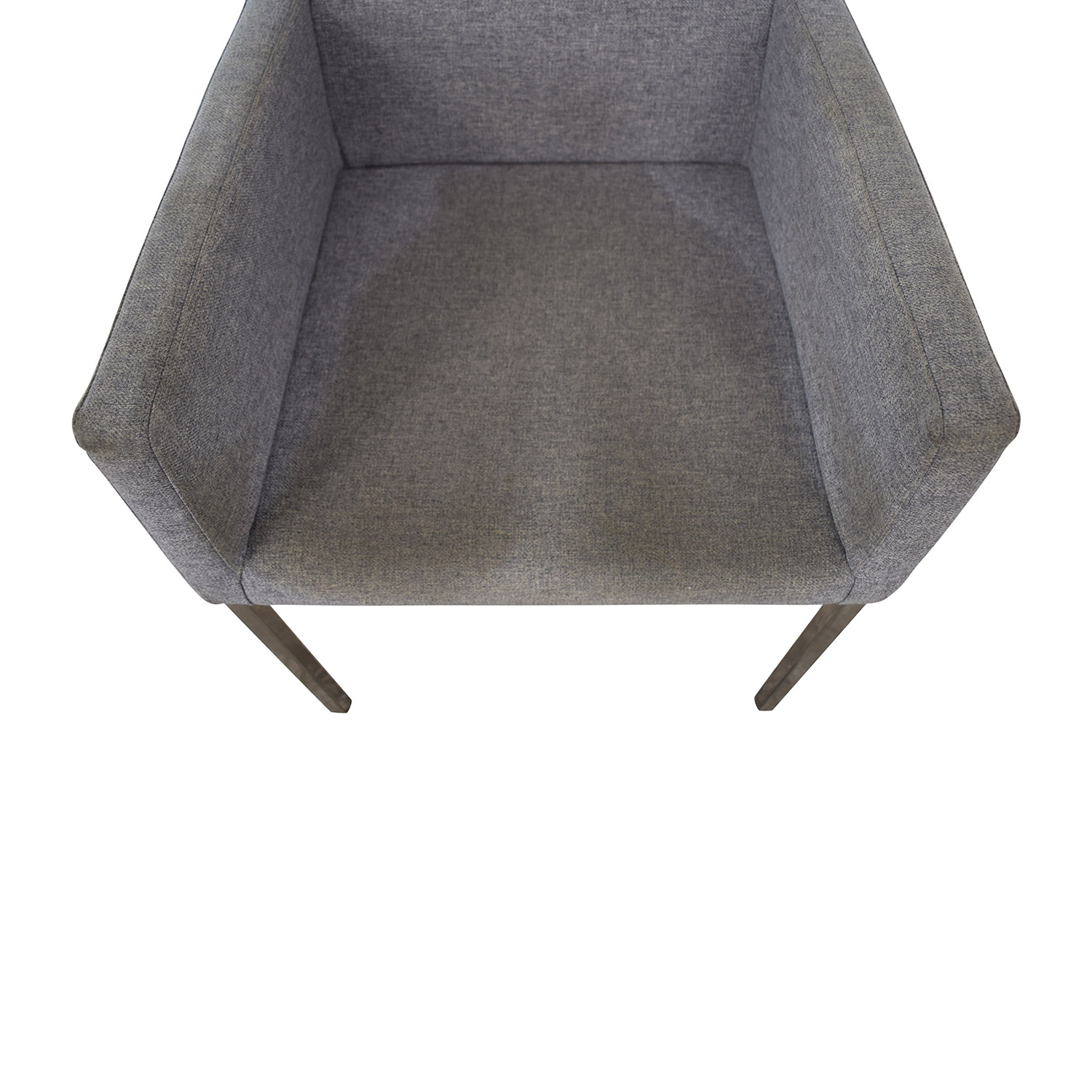 CB2 CB2 Grey and Chrome Chair price