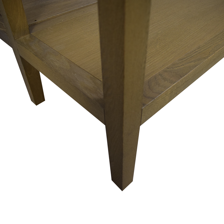 buy West Elm Queen Canopy Bed Frame West Elm