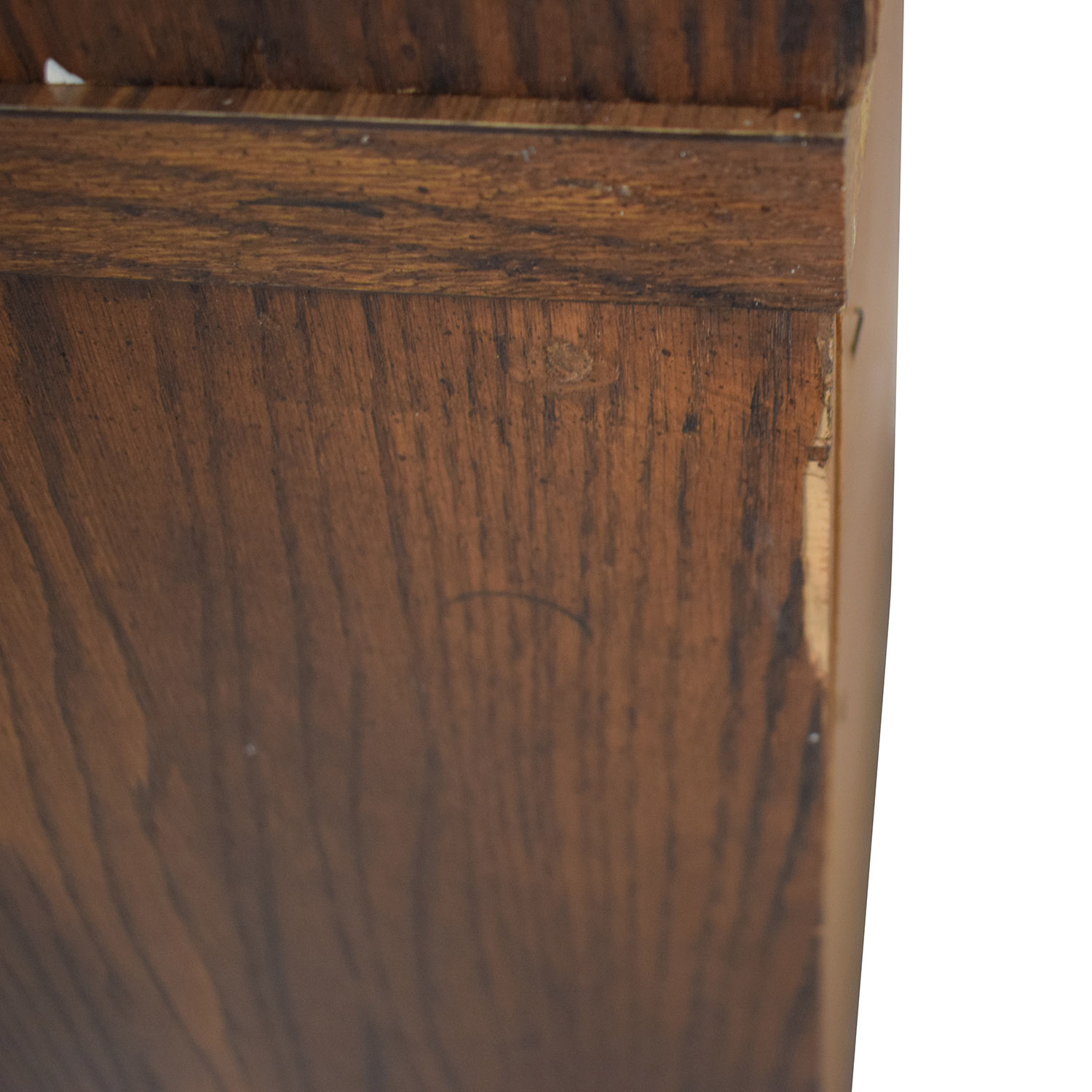 Wood Cabinet Hutch with Three Drawers for sale