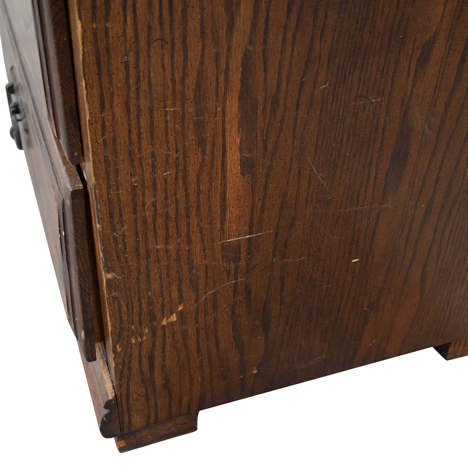 Wood Cabinet Hutch with Three Drawers on sale