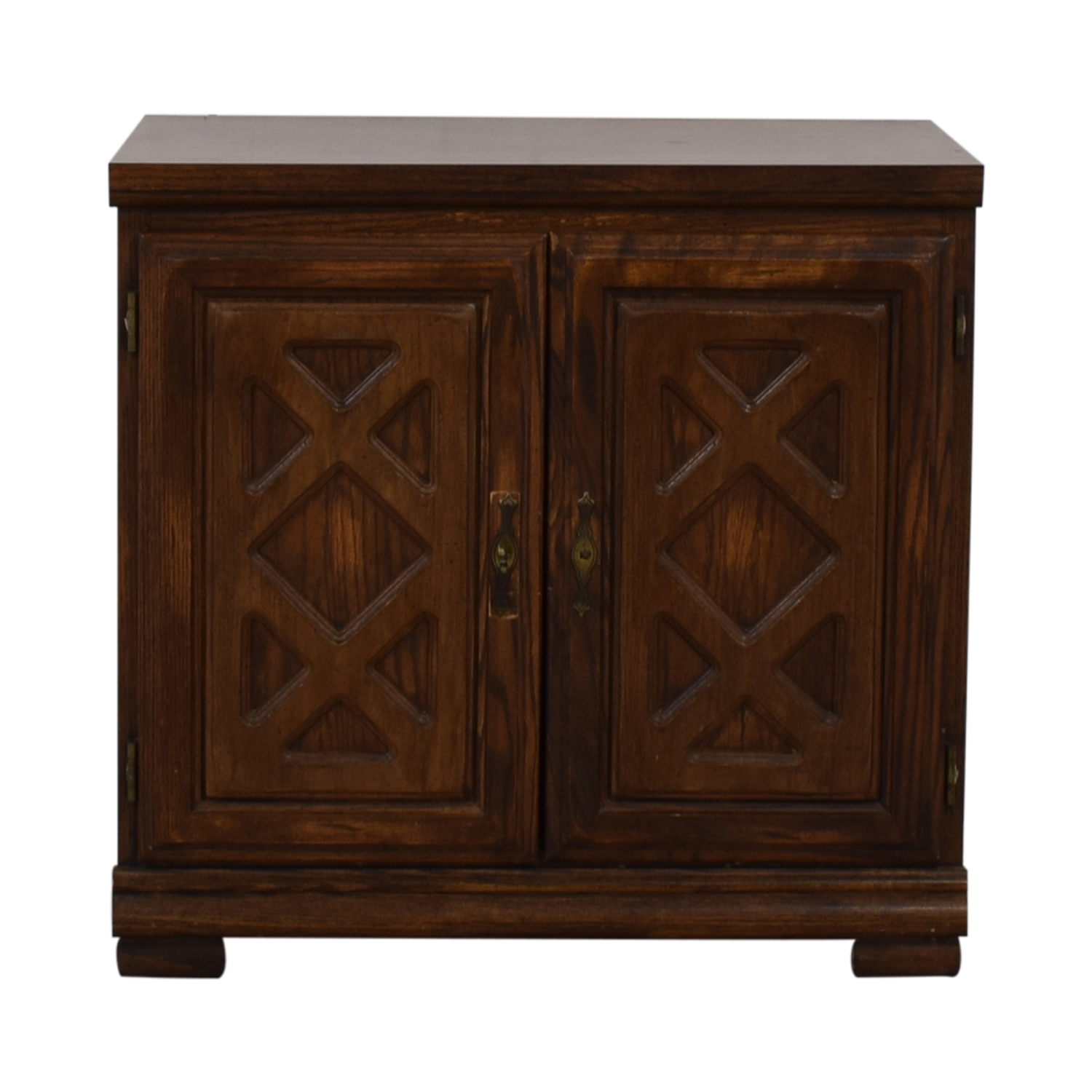 buy  Carved Wood Chest with Shelves online
