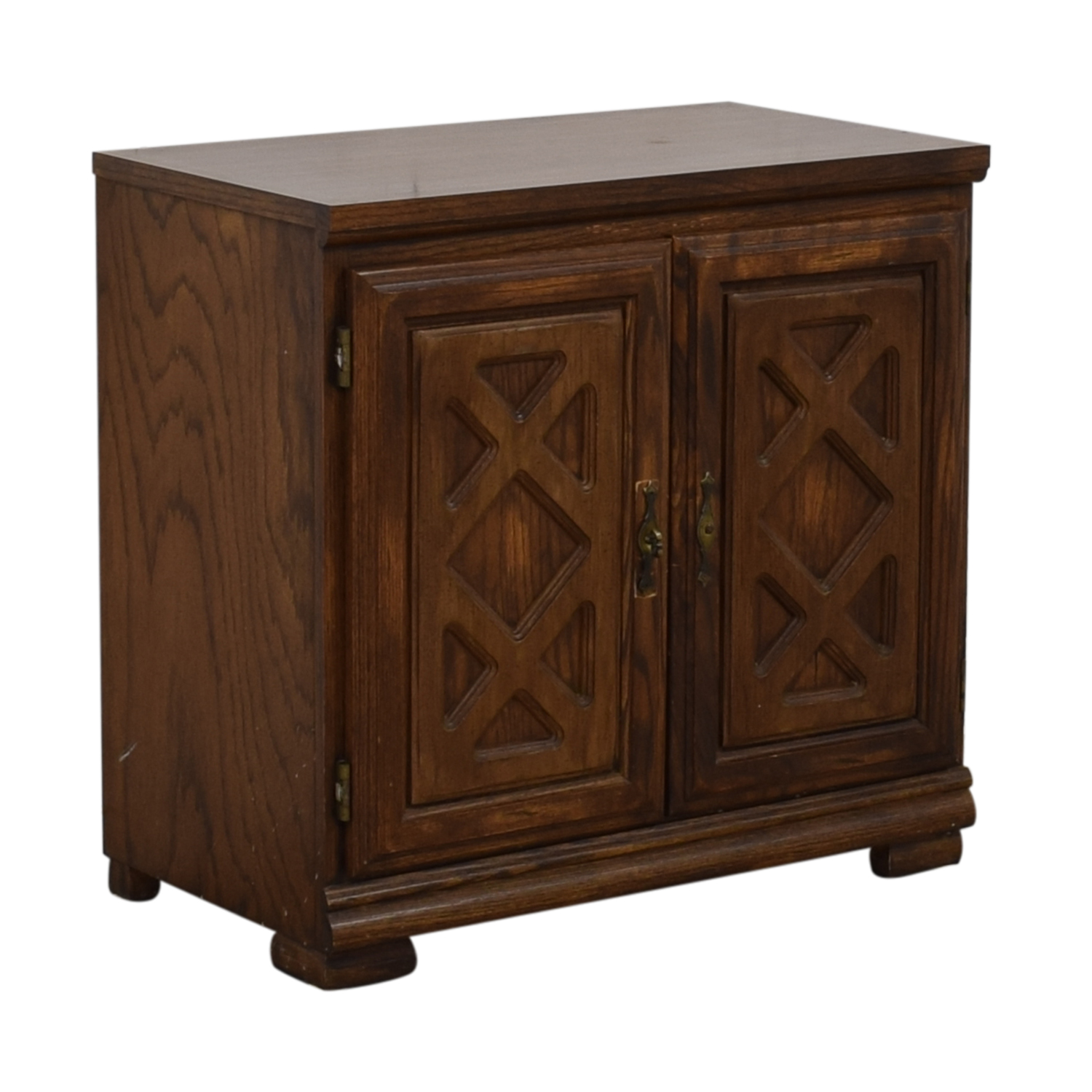 buy Carved Wood Chest with Shelves  Cabinets & Sideboards