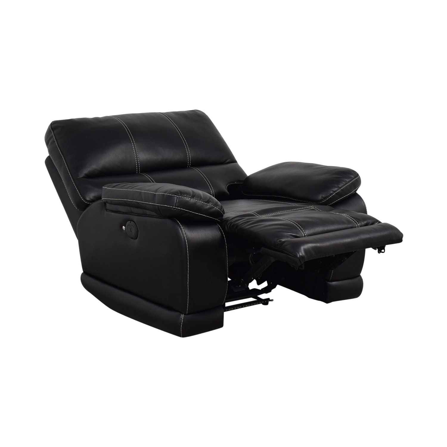 Klaussner Klaussner Black Reclining Chair for sale