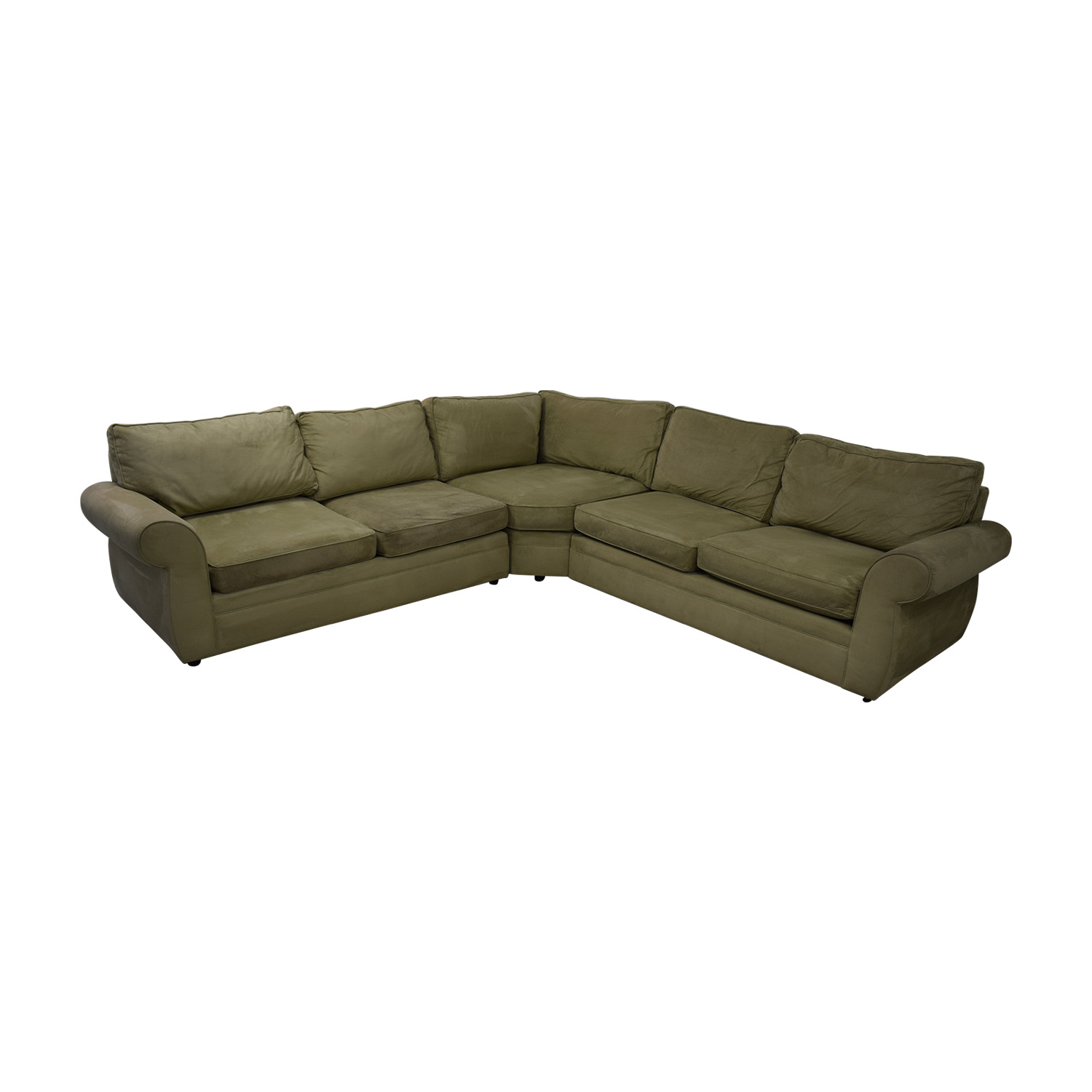 Pottery Barn Pottery Barn Pearce Beige L-Shaped Sectional coupon