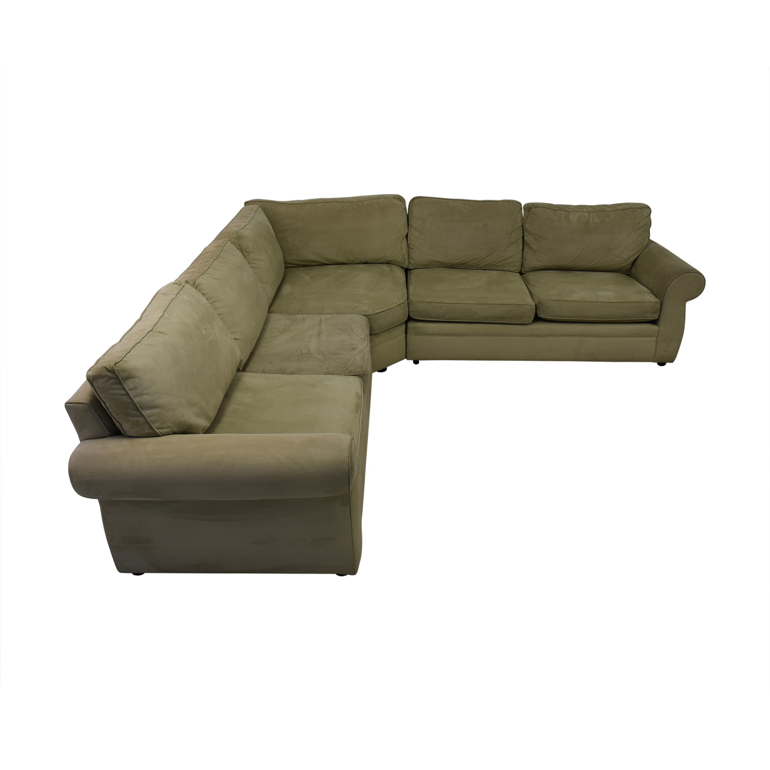 shop Pottery Barn Pottery Barn Pearce Beige L-Shaped Sectional online