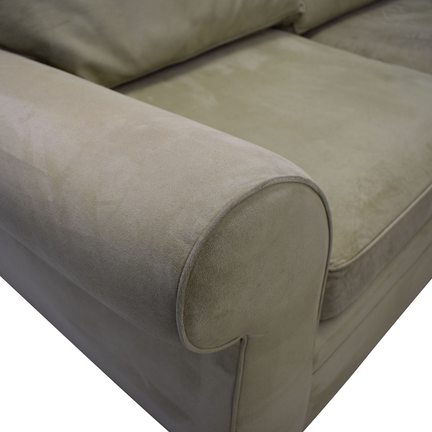 buy Pottery Barn Pearce Beige L-Shaped Sectional Pottery Barn