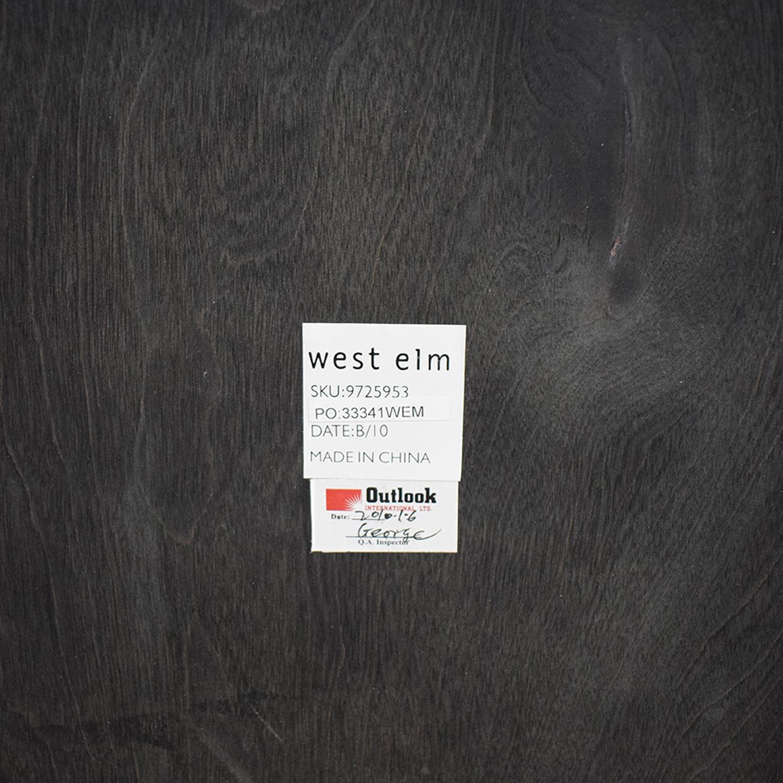 West Elm West Elm Zen Wood Coffee Table nj