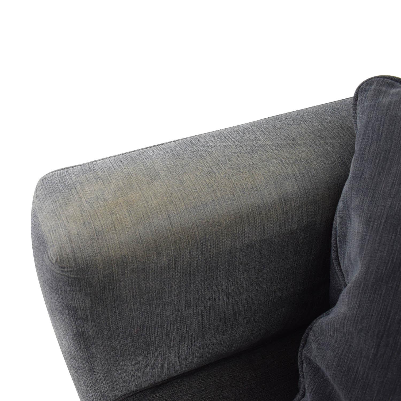 Macy's Macy's Kenton Fabric Loveseat Sofas