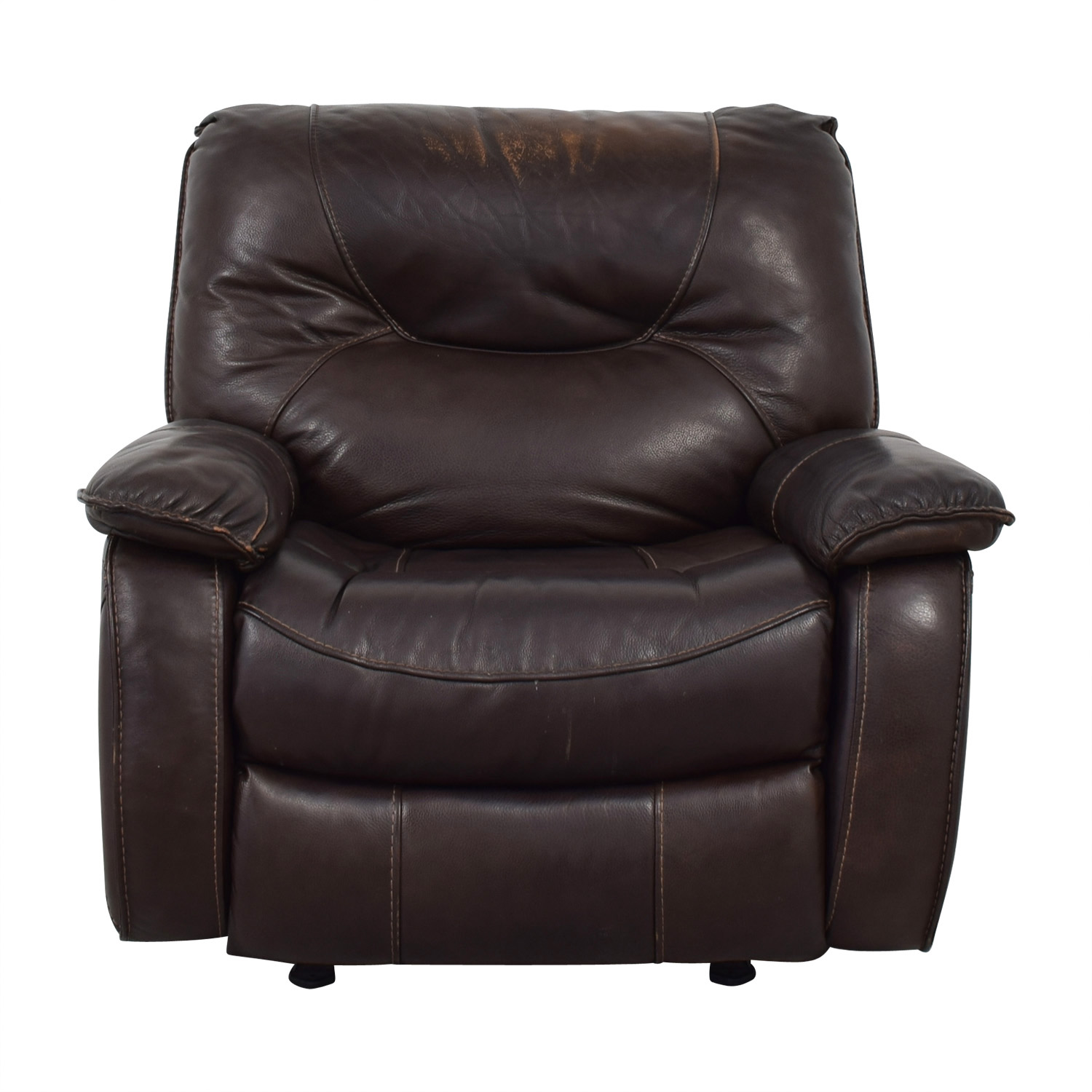 Macy's Macy's Brown Leather Recliner Chair price