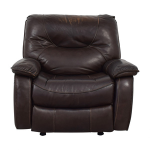 buy Macy's Macy's Brown Leather Recliner Chair online