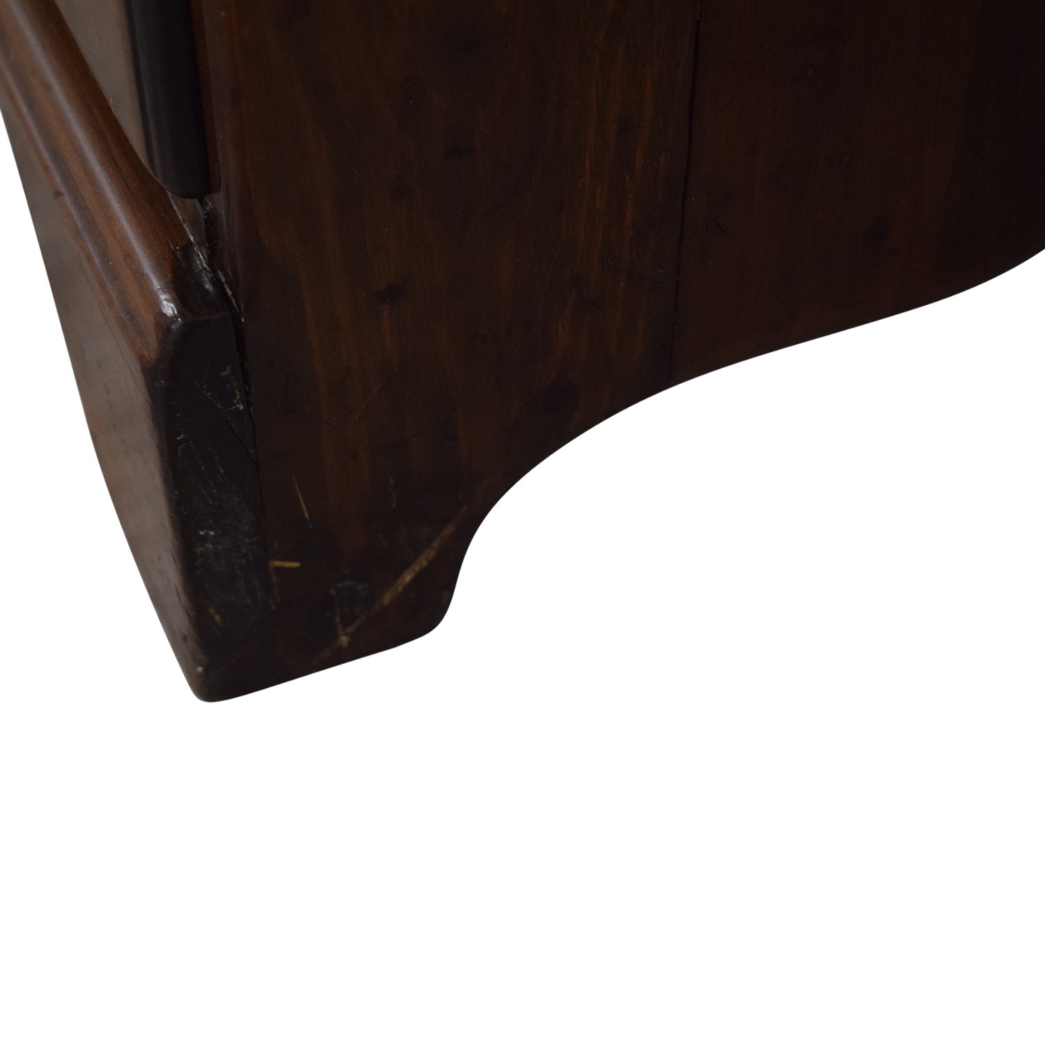 Wood Twelve-Drawer Dovetailed Sideboard with Hutch
