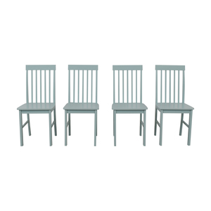 Light Blue Wood Chairs price