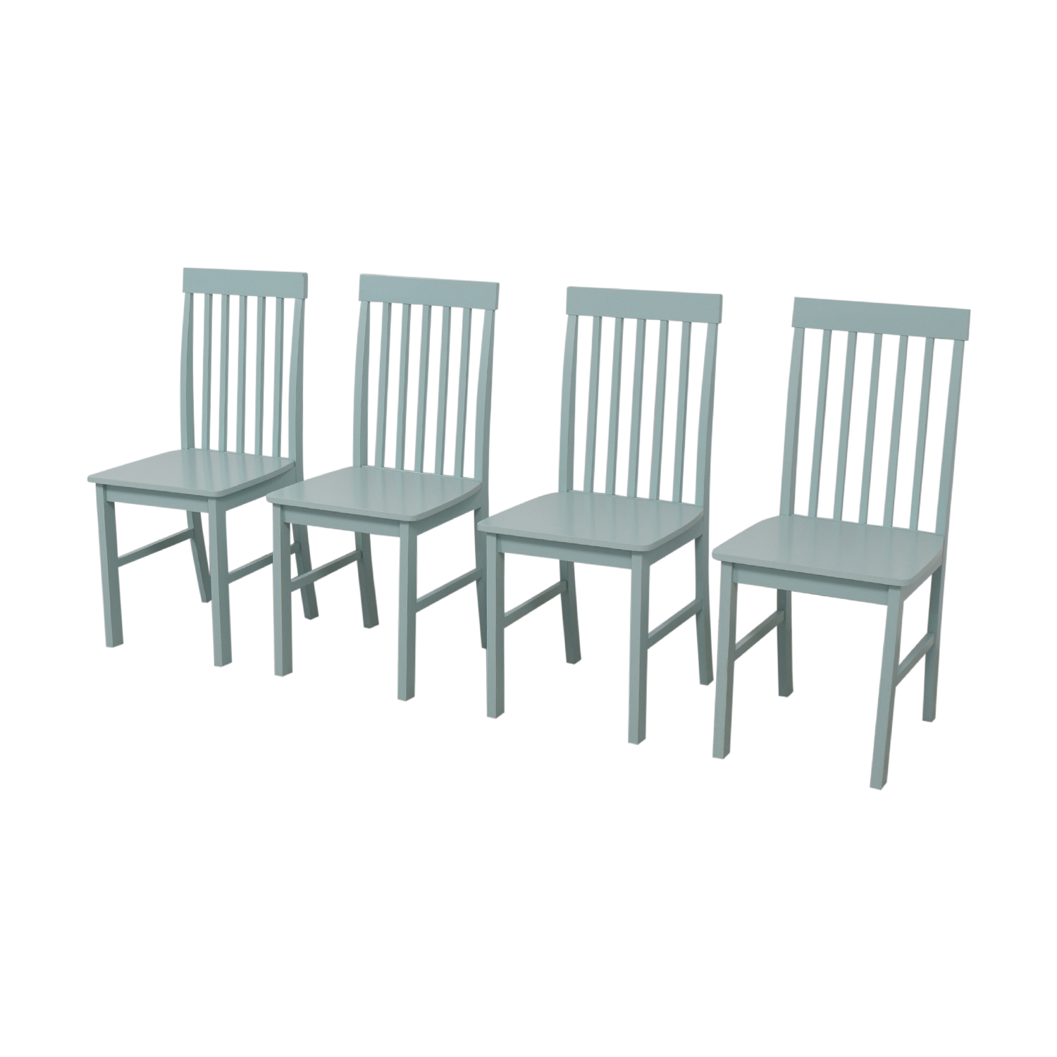 buy Light Blue Wood Chairs  Dining Chairs
