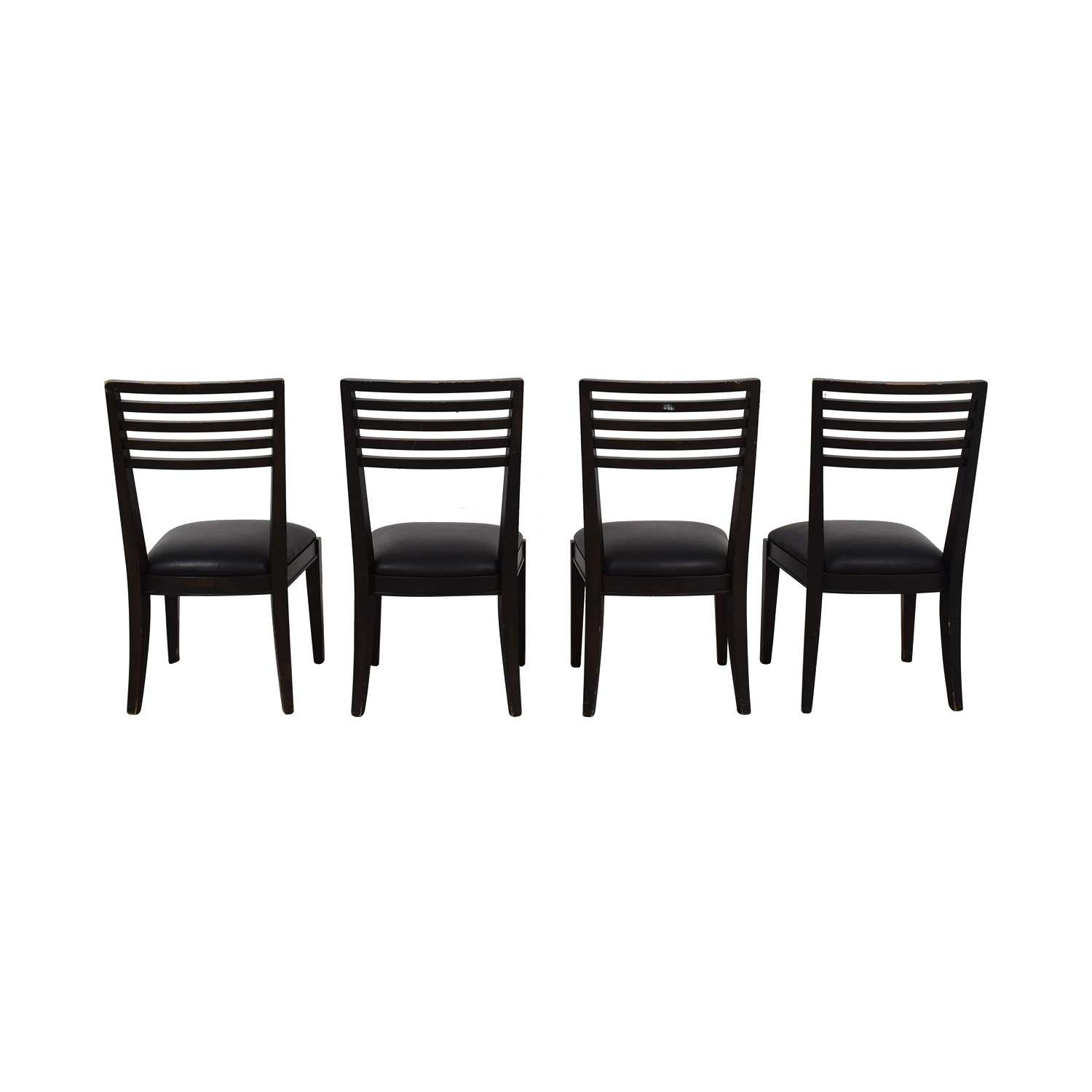 Crate & Barrel Black Dining Chairs / Dining Chairs