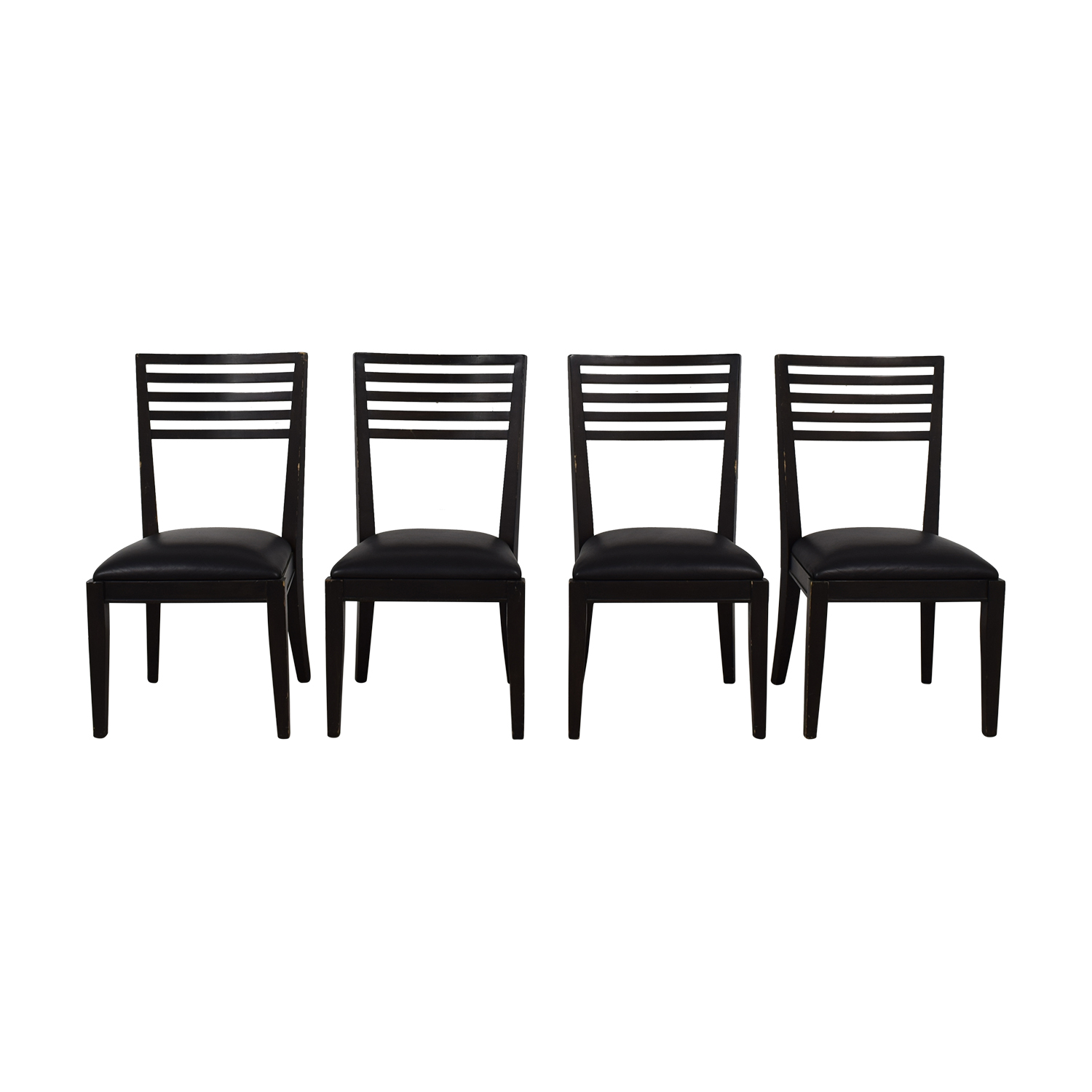 buy Crate & Barrel Crate & Barrel Black Dining Chairs online