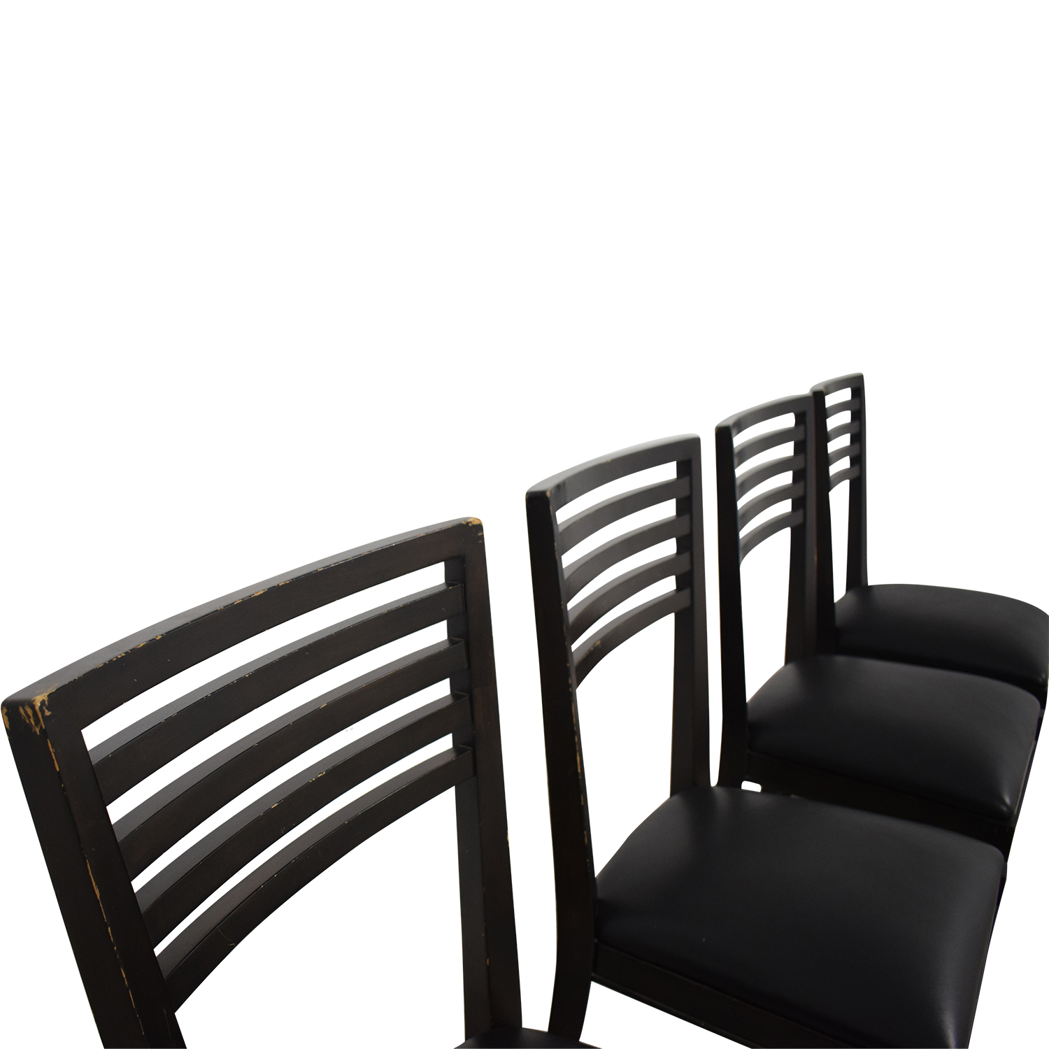 Crate & Barrel Crate & Barrel Black Dining Chairs price