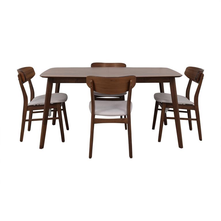 All Modern All Modern Upholstered Dining Set discount