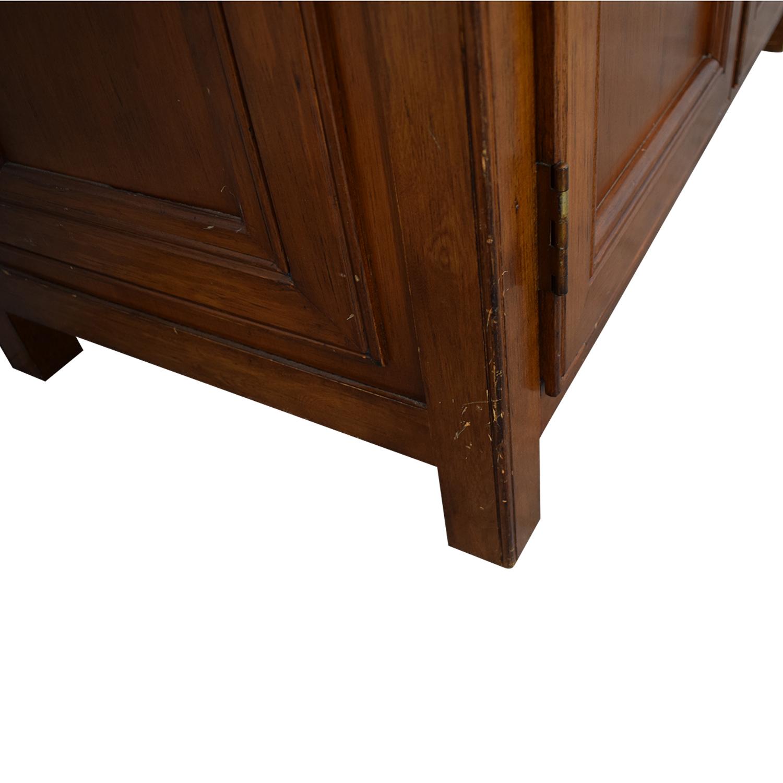 Crate & Barrel Crate & Barrel Four-Drawer Secretary Desk Home Office Desks