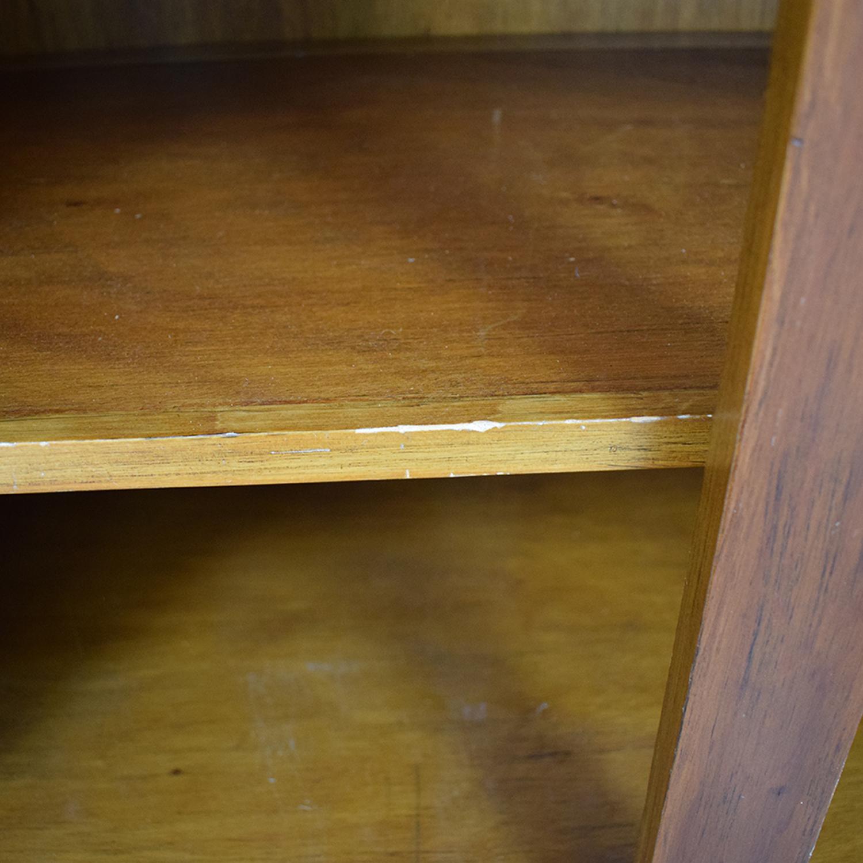Crate & Barrel Crate & Barrel Four-Drawer Wood Secretary Desk price