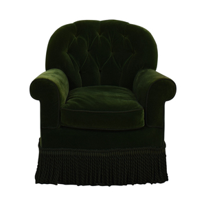 Green Accent Chair used