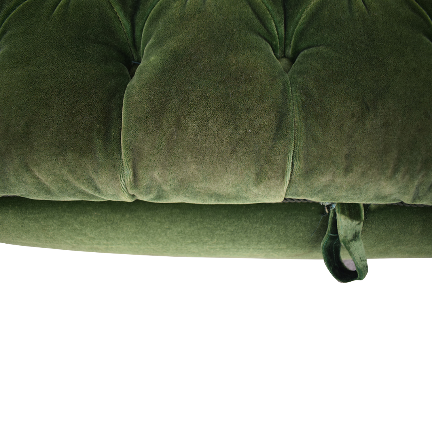 Fine 73 Off Green Tufted Storage Ottoman Chairs Short Links Chair Design For Home Short Linksinfo
