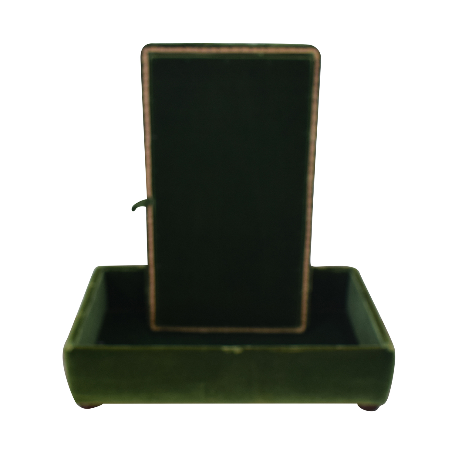shop Green Tufted Storage Ottoman  Chairs