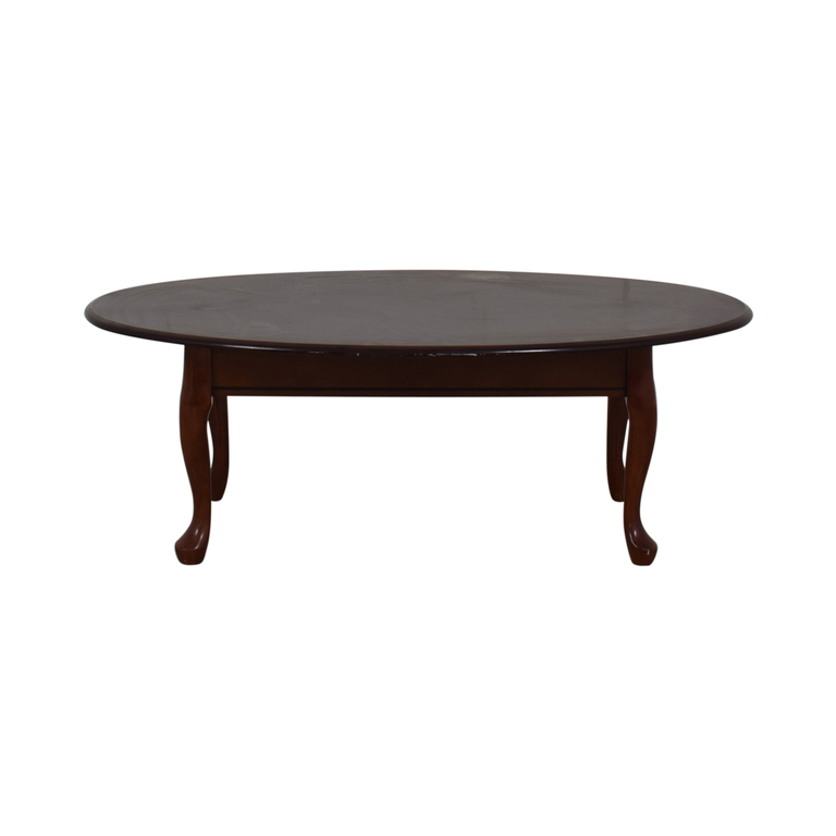 Cort Cherry Wood Coffee Table