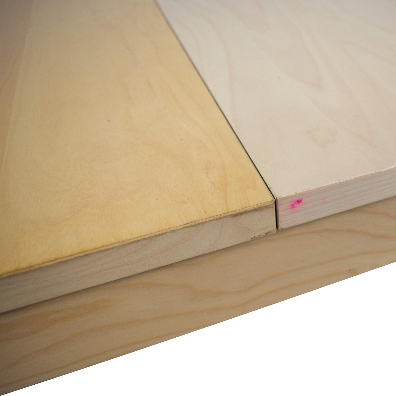 IKEA Bjursta Blonde Expandable Table / Tables