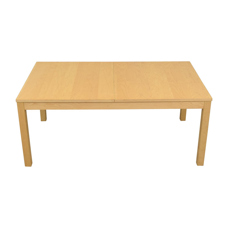 IKEA Bjursta Blonde Expandable Table / Dinner Tables